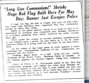 May 1 1923 Red Flag